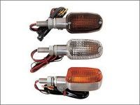 Square aluminium turn signals