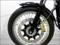 Front brake calliper 4 pot Brembo Thruxton FS