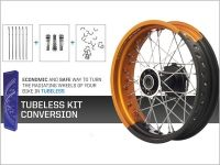Scrambler  Tubeless Kit Conversion STS